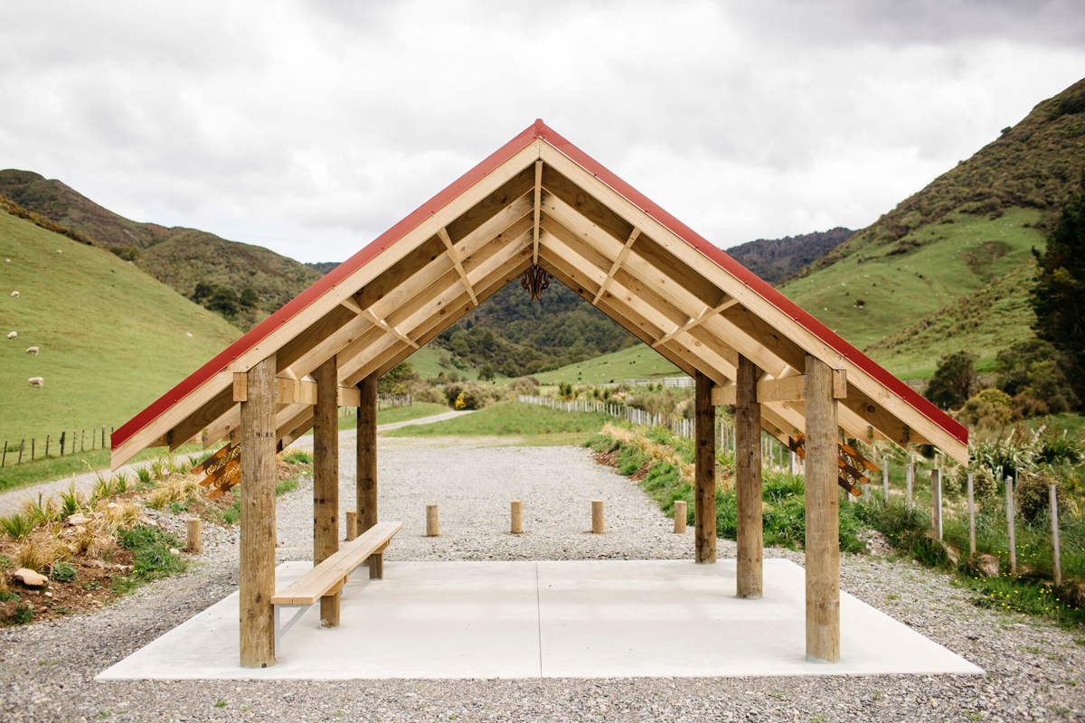Tū Te Manawa project, Ngāmoko Whare, Manawatū River Road, Norsewood
